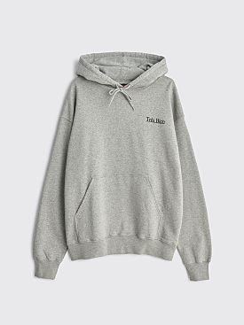 Très Bien Hooded Sweatshirt Good Times Heather Grey