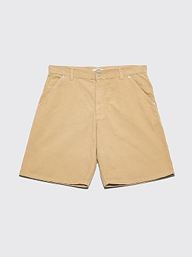Très Bien 5 Pocket Shorts Soft Cord Pale Olive Green