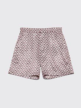 Très Bien Sport Shorts Paisley Satin Pink Dust