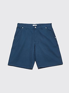 Très Bien 5 Pocket Shorts Soft Twill Stargazer Blue