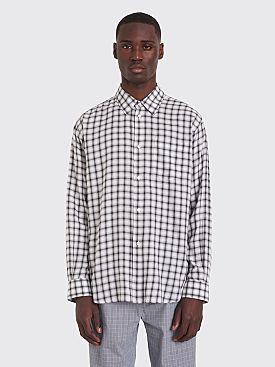 Très Bien Classic Shirt Check White / Black