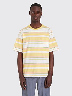 Très Bien Volume T-shirt Stripe Lime