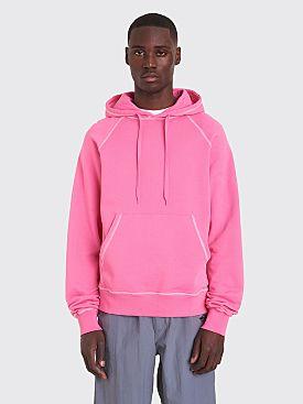 Très Bien Hooded Raglan Sweatshirt Azalea Pink