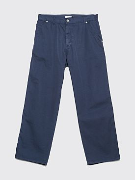 Très Bien Carpenter Twill Pants Orion Blue