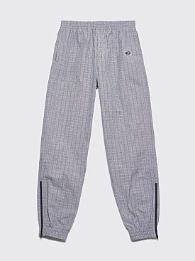 Très Bien Warm Up Pants Small Checks Grey / Blue