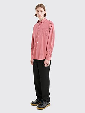 Très Bien Classic Shirt Light Seersucker Mauve