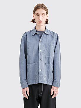 Très Bien Light Chore Jacket Slate Grey