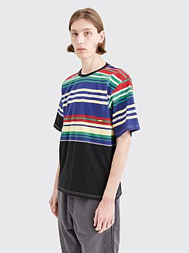 Très Bien Volume T-shirt Blocked Stripe Black