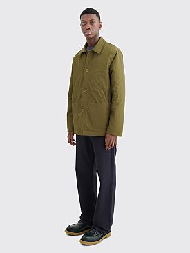 Très Bien Pleasure Tech Twill Jacket Army Green