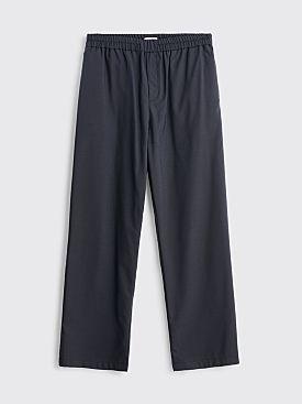 Très Bien Relaxed Suit Wool Trousers Dark Grey
