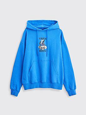 Très Bien Souvenir Hooded Sweatshirt Tete A Tete Royal Blue