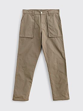 Très Bien Fatigue Rip Stop Pants Brown / Red