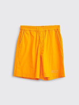 Très Bien Sport Shorts Tech Poplin Gold
