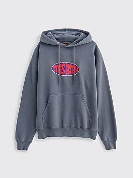 Très Bien Souvenir Hooded Sweatshirt Blow Up Graphite