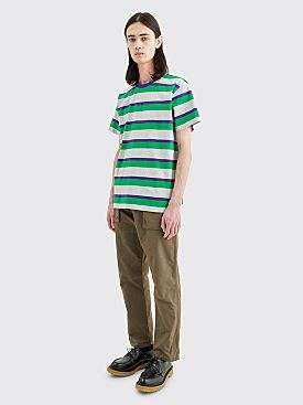 Très Bien Volume T-shirt Stripe Green