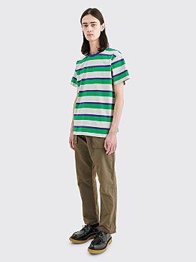 Très Bien Volume T-shirt Stripe Green