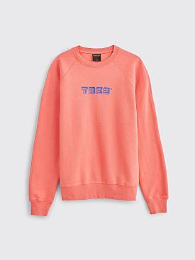 Très Bien Souvenir Sweatshirt TREZ Logo Coral