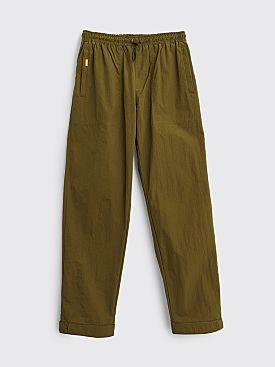 Très Bien Alpine Trousers Nylon Tech Twill Army Green