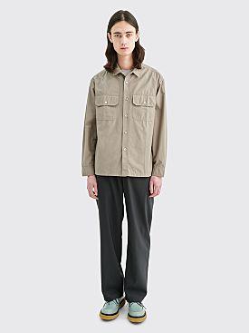 Très Bien Tech Over Shirt Camo Canary Green