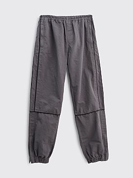 Très Bien Warm Up Trousers Piped Cotton Grey
