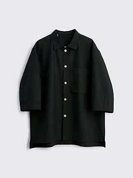 Très Bien Ateljé Baseball Overshirt Dark Forest Green