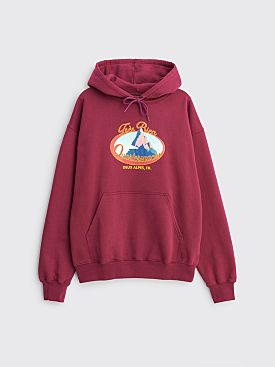 Très Bien x Quartersnacks Twin Peaks Hooded Sweatshirt Purple