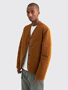 Très Bien Padded Liner Jacket Brushed Cotton Gold