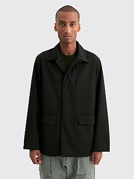Très Bien Scout Suit Jacket Wool Drill Black