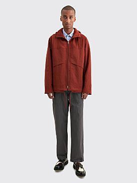 Très Bien Reworked Nylon Jacket Rust