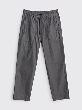 Très Bien Alpine Trousers Cotton Overdye Graphite