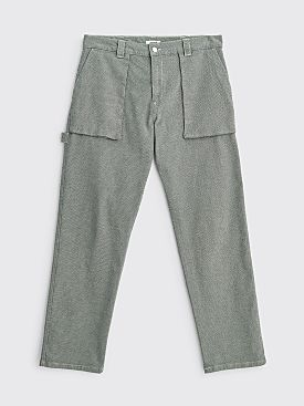 Très Bien Herringbone Twill Fatigue Trousers Light Grey