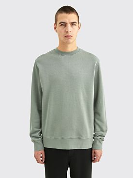 Très Bien Semi Raglan Crewneck Loopback Cotton Slate Grey
