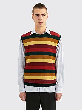 Très Bien Molto Wool Vest Multi Stripe