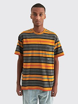 Très Bien Volume Pocket T-shirt Stripe Gold