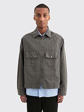 Très Bien Modern Plus Jacket Cotton Linen Dark Graphite