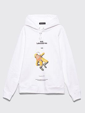 Undercover Hal Laboratories Hooded Sweatshirt White