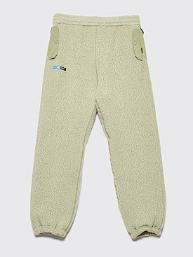 Undercover Logic Memory Center Fleece Pants Moss Green
