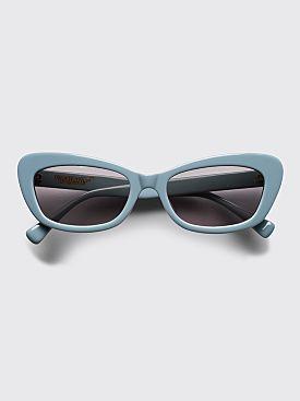 Undercover Cat Eye Sunglasses Blue Grey