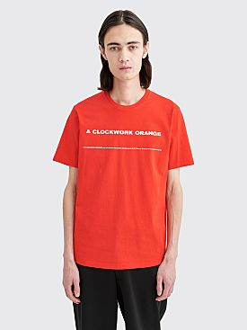 Undercover Clockwork Orange Tunnel T-shirt Red