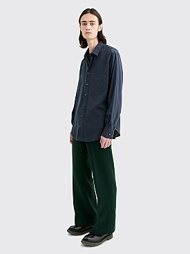 Undercover Wool Pants Dark Green