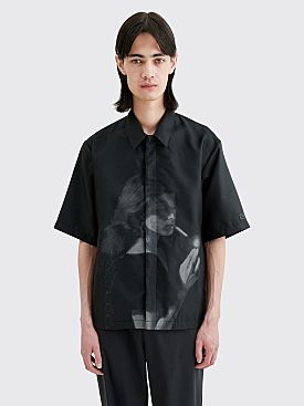 Undercover Cindy Sherman Printed Portrait Shirt Black
