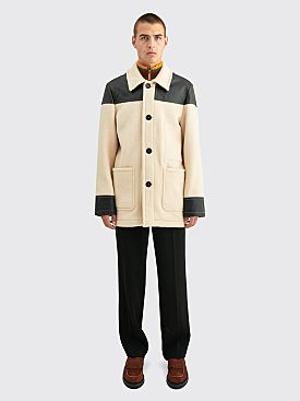 Wales Bonner Hybrid Donkey Jacket Bone / Black