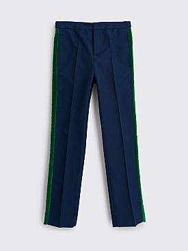 Wales Bonner Dub Tuxedo Trousers Navy