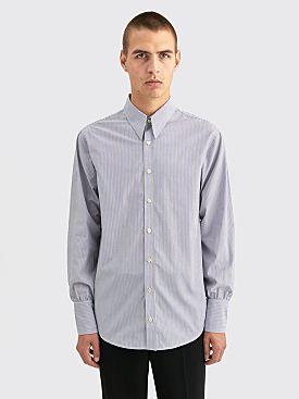 Wales Bonner Isaac Elegant Poplin Shirt Ivory