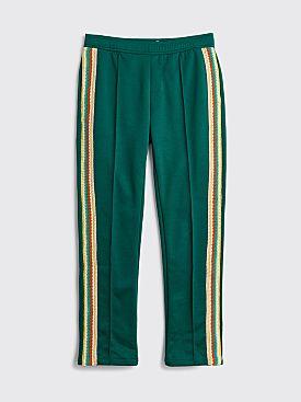 Wales Bonner Clarendon Jersey Track Pants Emerald