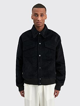 Winnie New York Corduroy Bomber Jacket Navy