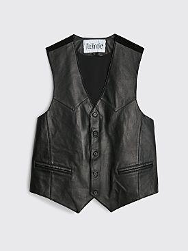 Winnie New York Leather Vest Black