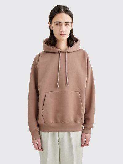 buying cheap newest collection best quality Très Bien - Auralee Baggy Sweatshirt Parka Pink Brown
