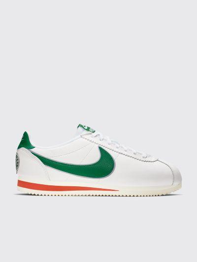 największa zniżka autentyczna jakość najlepsza strona internetowa Nike x Stranger Things Classic Cortez White / Pine Green