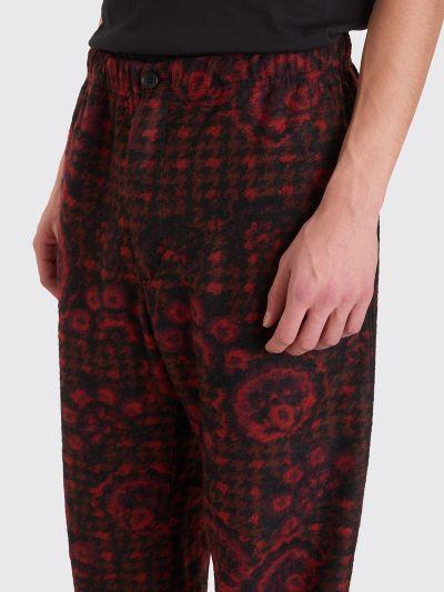 Engineered Garments Jog Pant Floral Red / Black